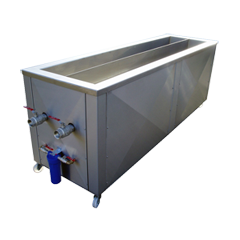 Window blind ultrasonic cleaners